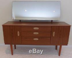 1970s Schreiber Dressing Table with Mirror Bedroom Retro FREE DELIVERY
