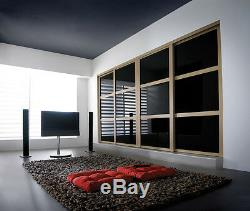 Bespoke Sliding Bedroom Doors (Silver Mirror) High Quality & Made-to-Measure