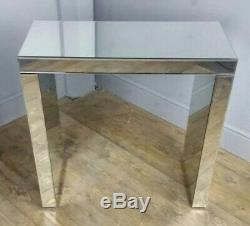 Beveled Mirror Console Lounge Hall Bedroom Conservatory