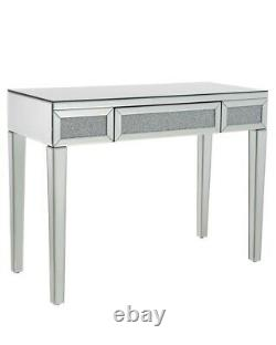 Crushed Diamond Crystal Mirrored Dressing Table Mirror Furniture Bedroom