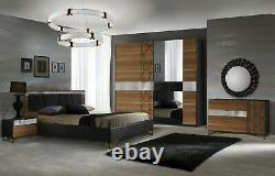 New 6 Complete Italian Bedroom Set Furniture With Free Delivery