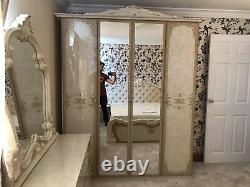New stunning italian complete bedroom set Clearnaces Offer