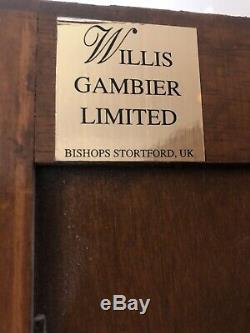 Willis Gambier Bedroom Set IMMACULATE Wardrobes Bedside Drawers SOLID WOOD